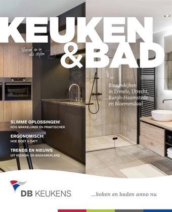 DB keukens reclame folder (geldig t/m 31-08)