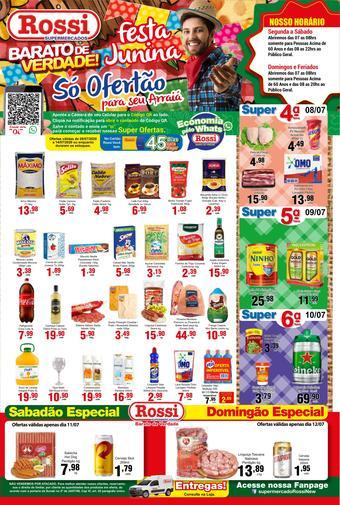Rossi Supermercado catálogo promocional (válido de 10 até 17 14-07)