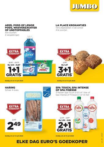 Jumbo Foodmarkt reclame folder (geldig t/m 14-07)