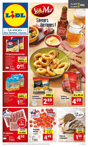 Lidl catalogue publicitaire (valable jusqu'au 21-07)