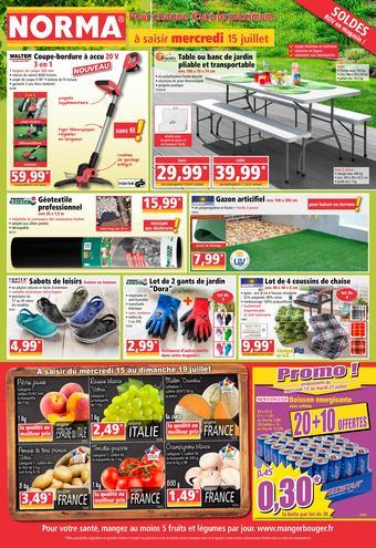 Norma catalogue publicitaire (valable jusqu'au 21-07)