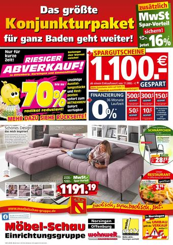 Möbel-Schau Prospekt (bis einschl. 18-07)