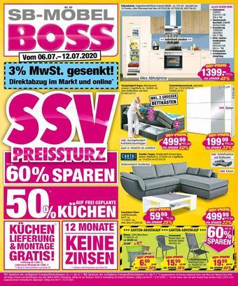 Möbel Boss Prospekt (bis einschl. 12-07)