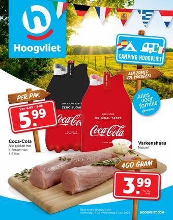 Hoogvliet reclame folder (geldig t/m 21-07)