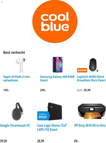 CoolBlue reclame folder (geldig t/m 21-07)
