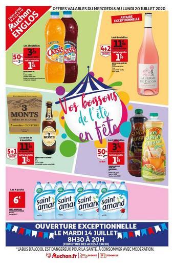 Auchan Direct catalogue publicitaire (valable jusqu'au 20-07)