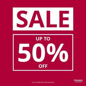 Takko fashion reclame folder (geldig t/m 30-09)