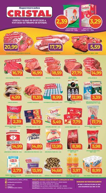 Supermercados Cristal catálogo promocional (válido de 10 até 17 11-07)
