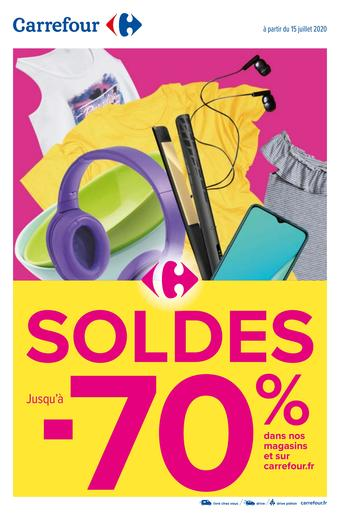 Carrefour catalogue publicitaire (valable jusqu'au 27-07)