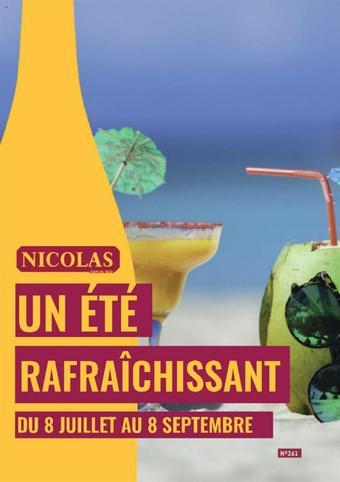 Nicolas catalogue publicitaire (valable jusqu'au 08-09)