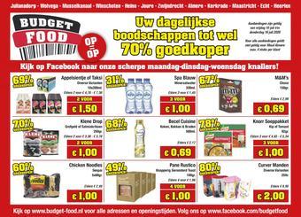 Budget Food reclame folder (geldig t/m 16-07)