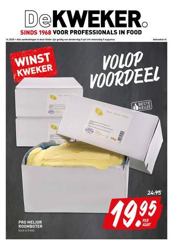 De Kweker reclame folder (geldig t/m 05-08)