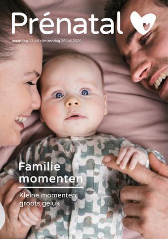 Prenatal reclame folder (geldig t/m 26-07)