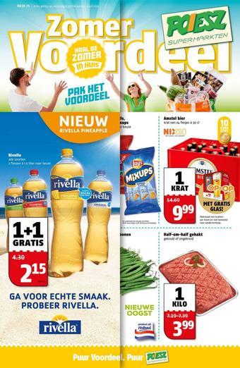 Poiesz reclame folder (geldig t/m 19-07)