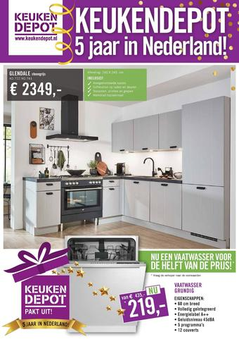 Keukendepot reclame folder (geldig t/m 19-07)
