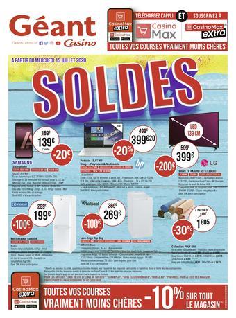 Géant Casino catalogue publicitaire (valable jusqu'au 02-08)