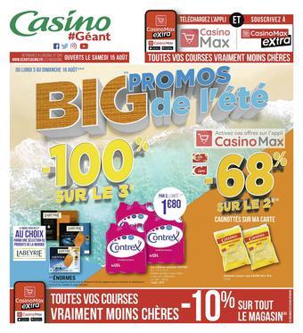 Géant Casino catalogue publicitaire (valable jusqu'au 16-08)