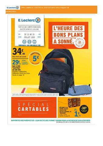 E.Leclerc catalogue publicitaire (valable jusqu'au 25-07)