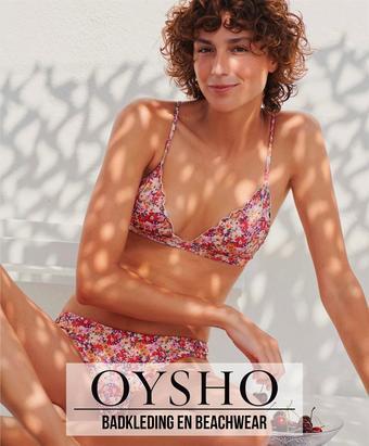 Oysho reclame folder (geldig t/m 12-09)
