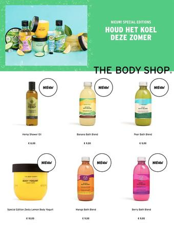 The Body Shop reclame folder (geldig t/m 31-07)