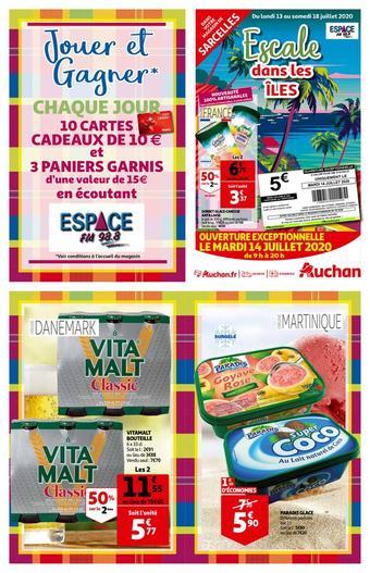 Auchan catalogue publicitaire (valable jusqu'au 18-07)