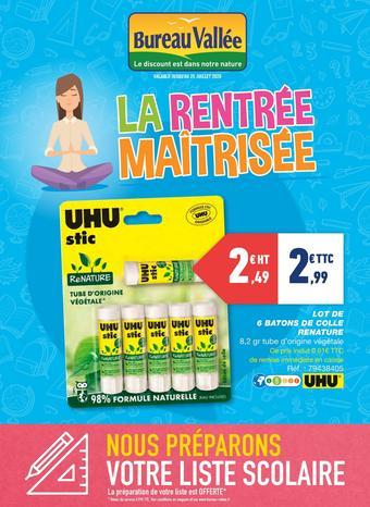 Bureau Vallée catalogue publicitaire (valable jusqu'au 25-07)