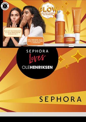 Sephora catalogue publicitaire (valable jusqu'au 30-07)