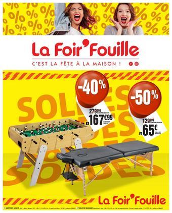 La Foir'Fouille catalogue publicitaire (valable jusqu'au 21-07)