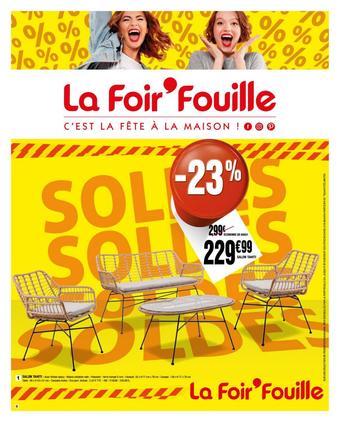 La Foir'Fouille catalogue publicitaire (valable jusqu'au 26-07)