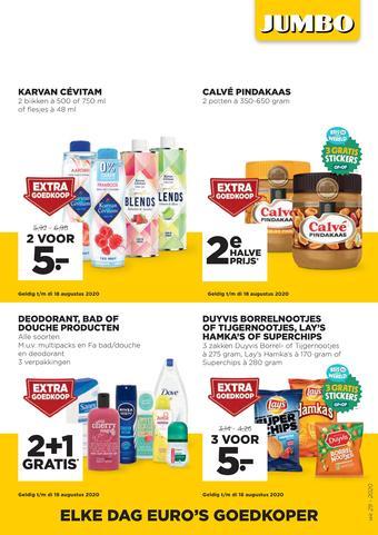 Jumbo Foodmarkt reclame folder (geldig t/m 21-07)