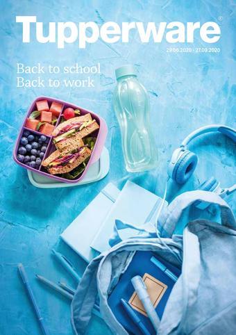 Tupperware reclame folder (geldig t/m 27-09)