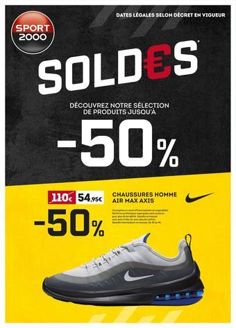 Sport 2000 catalogue publicitaire (valable jusqu'au 11-08)