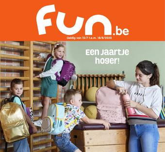 Fun reclame folder (geldig t/m 18-08)