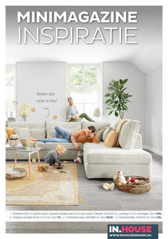IN.HOUSE reclame folder (geldig t/m 26-07)