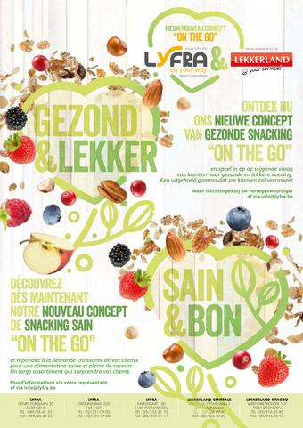 Lekkerland reclame folder (geldig t/m 13-08)
