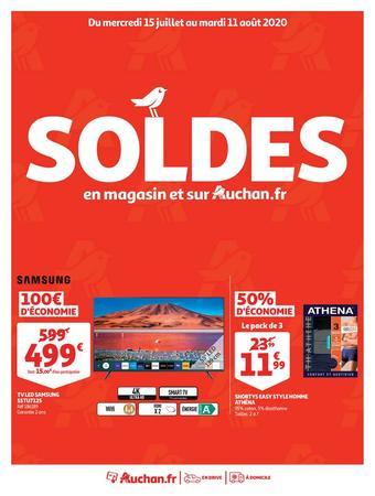 Auchan catalogue publicitaire (valable jusqu'au 11-08)