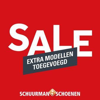 Schuurman Schoenen reclame folder (geldig t/m 16-08)