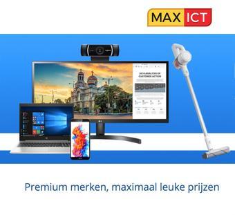 Max ICT reclame folder (geldig t/m 10-08)