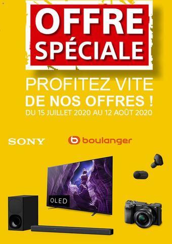 Boulanger catalogue publicitaire (valable jusqu'au 12-08)