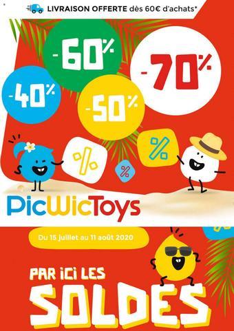 PicWicToys catalogue publicitaire (valable jusqu'au 11-08)