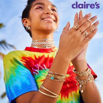 Claire's catalogue publicitaire (valable jusqu'au 12-09)
