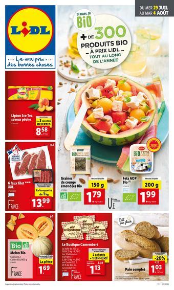 Lidl catalogue publicitaire (valable jusqu'au 04-08)