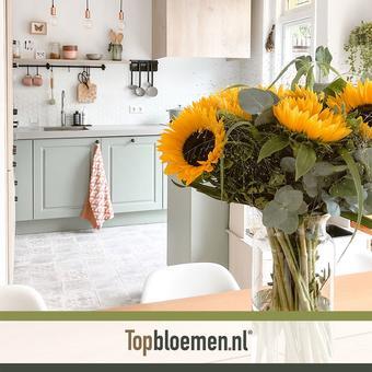 Topbloemen reclame folder (geldig t/m 30-09)
