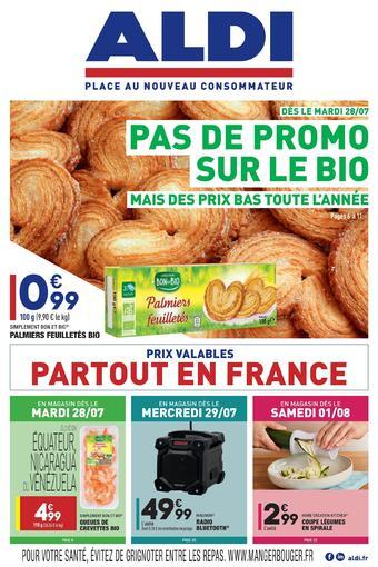 ALDI catalogue publicitaire (valable jusqu'au 03-08)