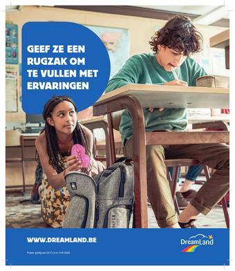 Dreamland reclame folder (geldig t/m 05-09)
