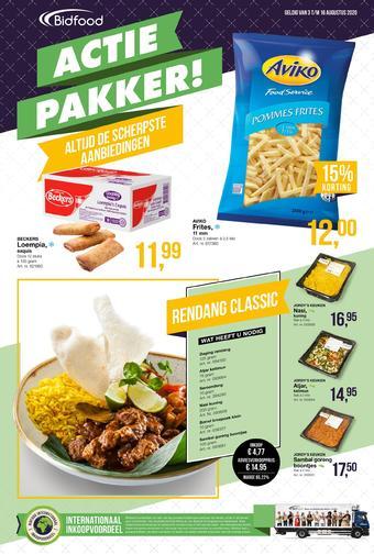 Bidfood reclame folder (geldig t/m 16-08)
