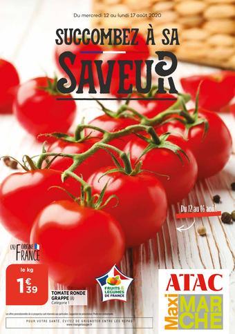 Maximarché catalogue publicitaire (valable jusqu'au 17-08)
