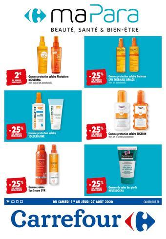 Carrefour catalogue publicitaire (valable jusqu'au 27-08)