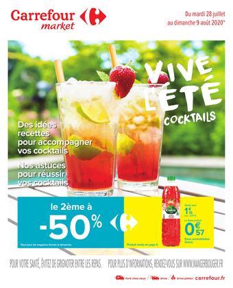 Carrefour Market catalogue publicitaire (valable jusqu'au 09-08)