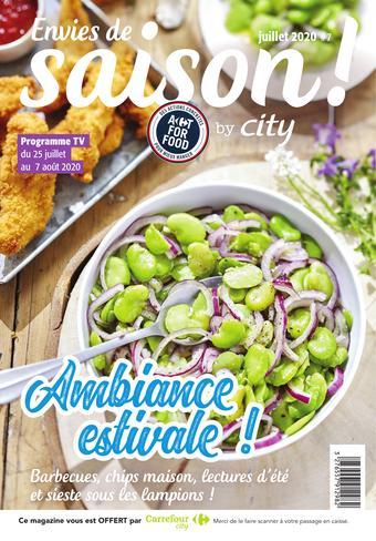 Carrefour City catalogue publicitaire (valable jusqu'au 07-08)